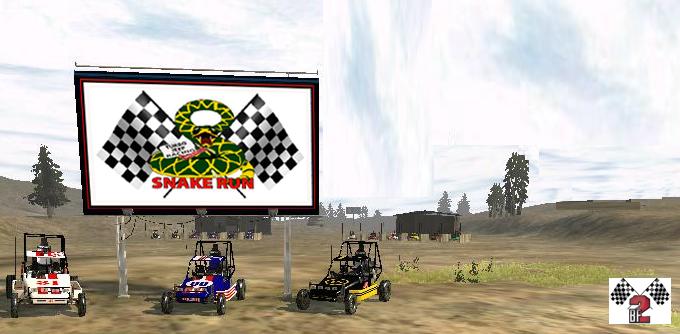Snake Run Rally scene